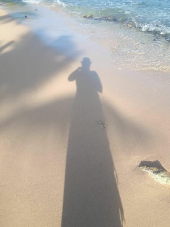 Le sable blanc