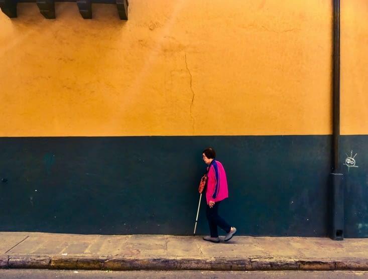 Dans les rues de Bogota