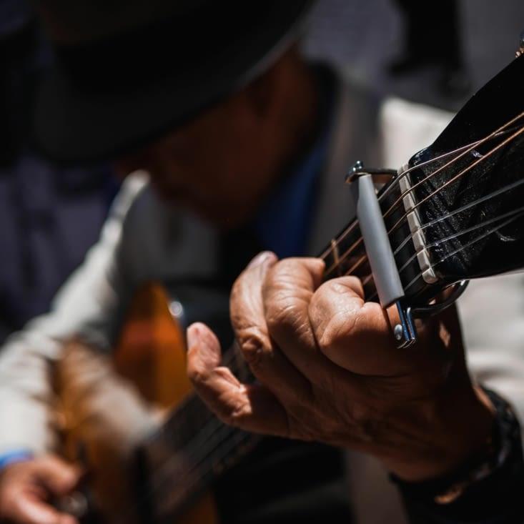 Feria de San Telmo - Joueur de guitare