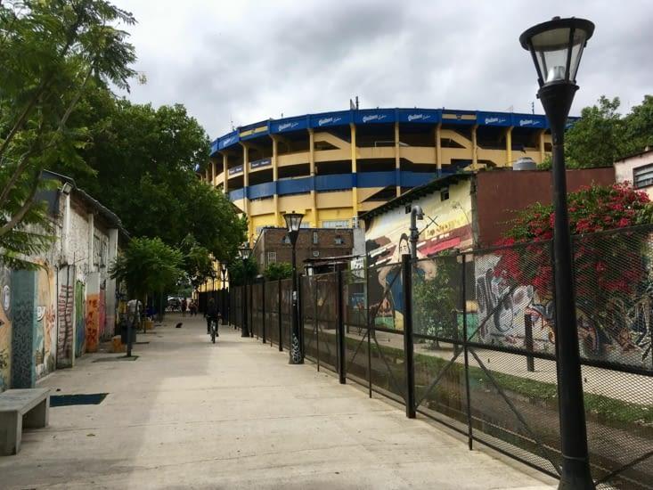 La Boca, stade de la Bombonnera, mythique (il parait ^^ !)