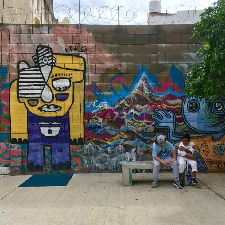 La Boca, street art et paupiettes