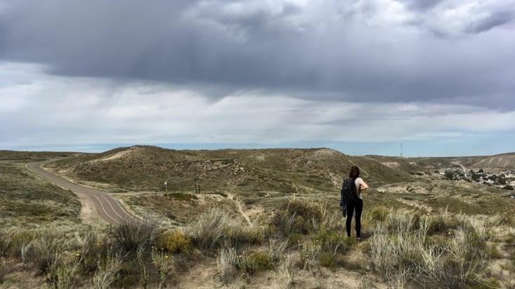 Le paysage le plus représentatif de la Péninsule, c'est sec !