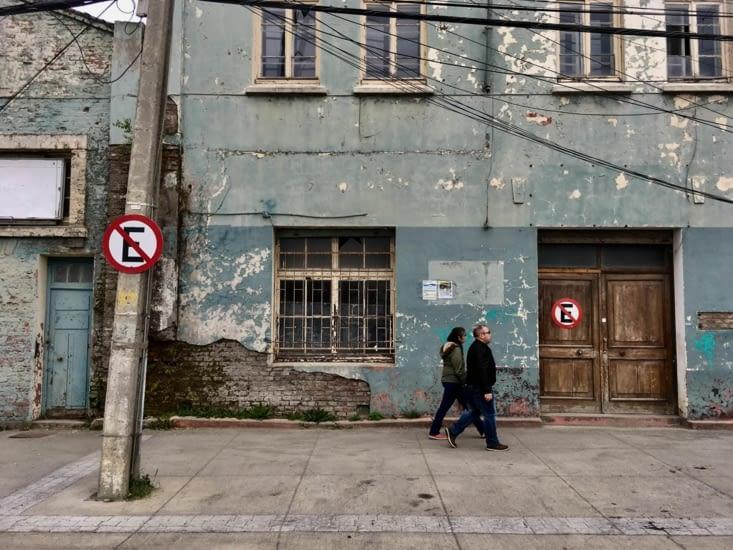 Dans les rues de Punta Arenas