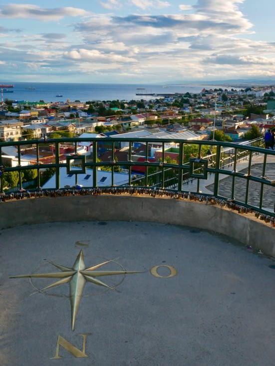 Mirador qui nous offre une super vue sur la ville
