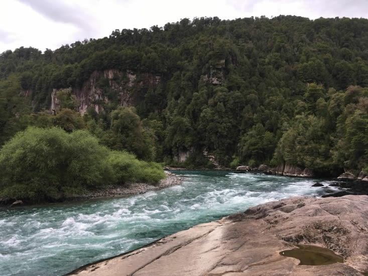Le rio Futaleufu...