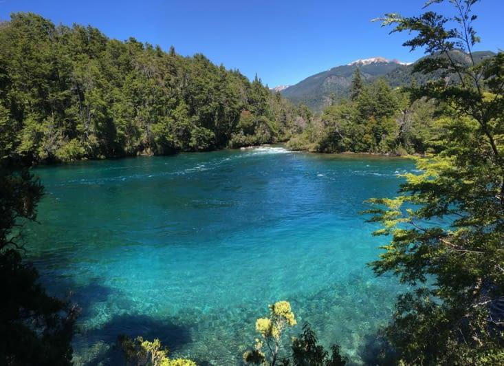 Lago Verde - La couleur de l'eau est incroyable !