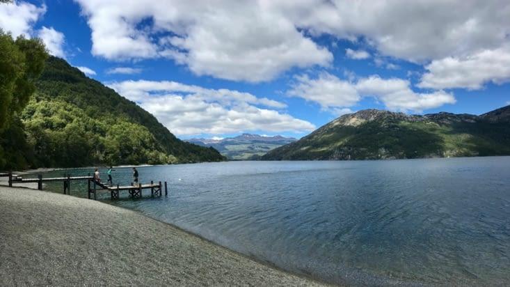 Punta Matos, premier camping sur le Lago Futaleufuquen. Super spot !