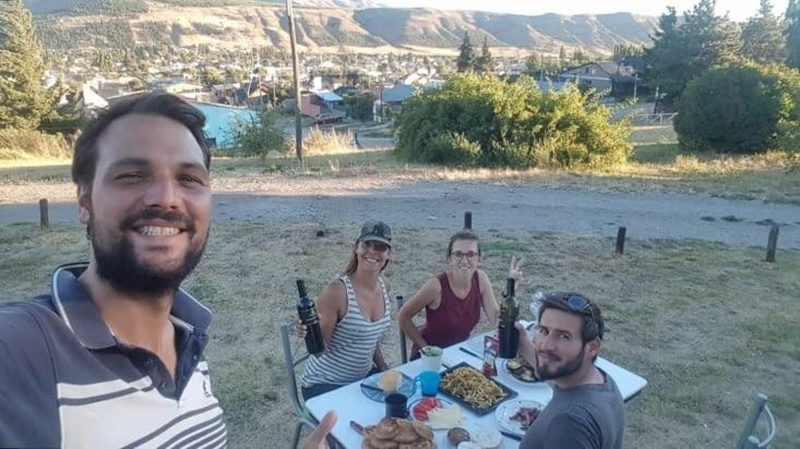 Retour à Esquel - Soirée cuisine : burgers végé et frites de patates douces !