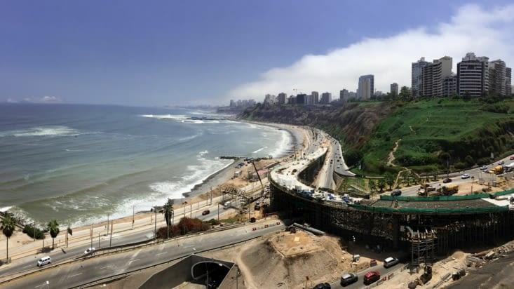 Lima - Vue sur Miraflores