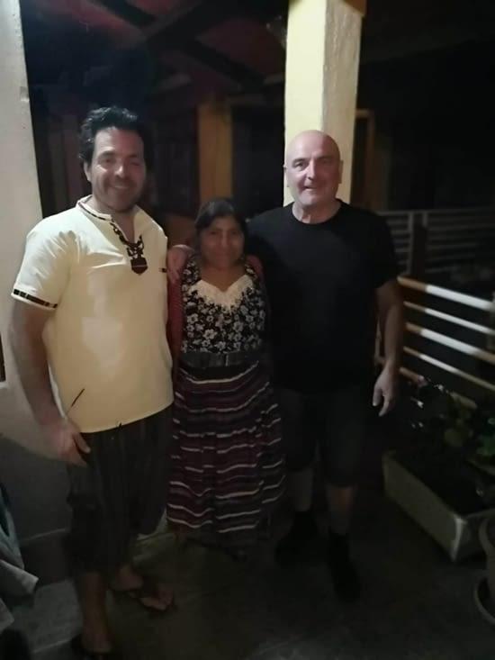 Les adieux à l'hotel Villa Cuba et à la très gentille Theresa