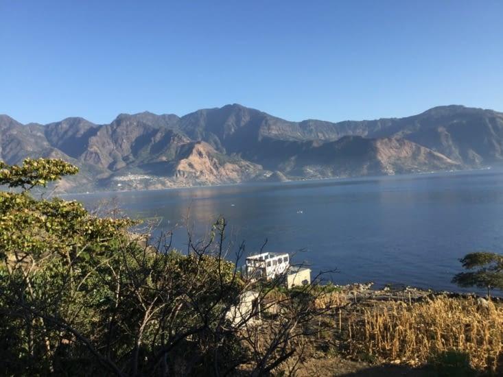 Une dernière vue du lac