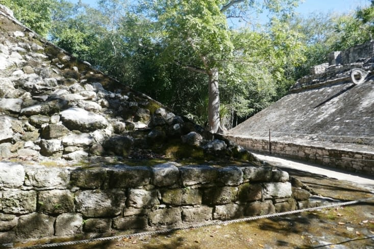Site maya de Coba