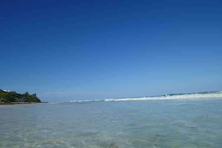 Une parcelle de liberté a l'extrême sud de la plage
