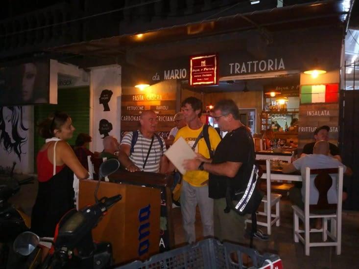 A la suite, cuisine locale revisitée à l'italienne