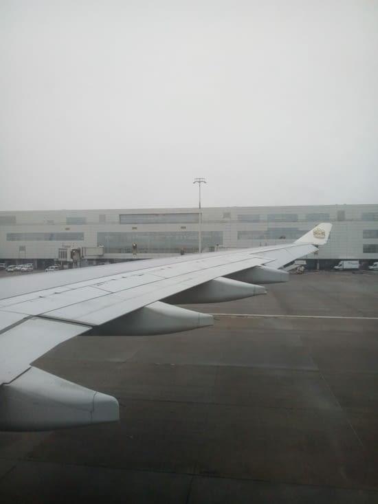 Départ de Bruxelles