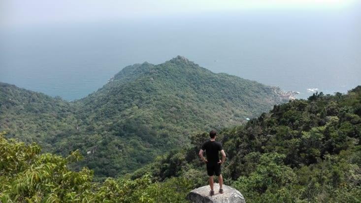 Vue sur la côte Est de Koh Tao