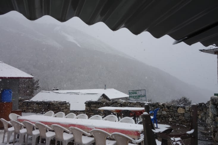 Tempête de neige