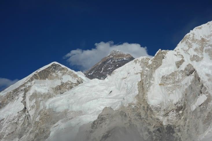 Vue sur l'Everest du Kala Patthar 👀