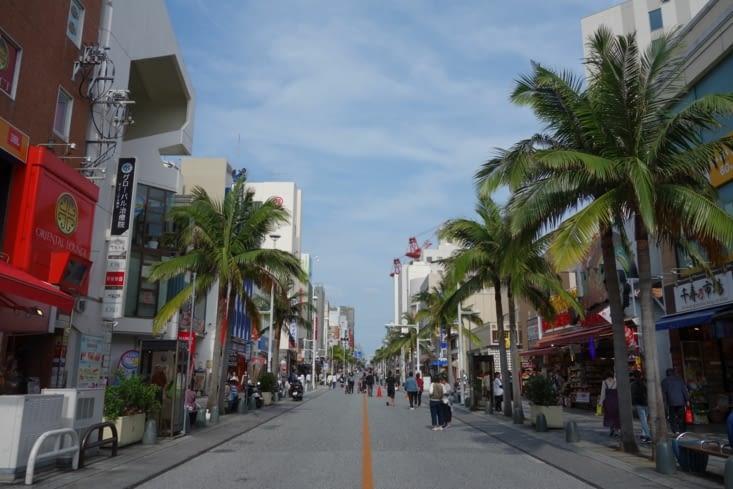 Naha, sur l'île principale d'Okinawa