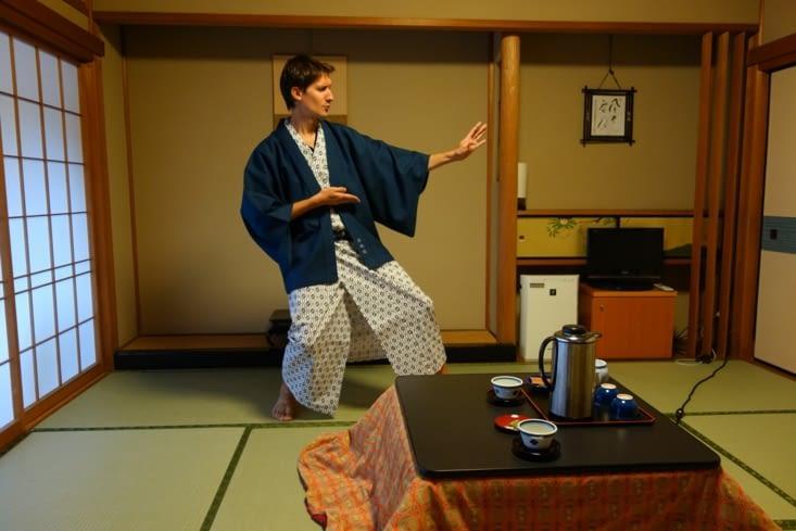 Blaise, content de pouvoir réenfiler un kimono 🙏 (dédicace au Sparring Liège !)
