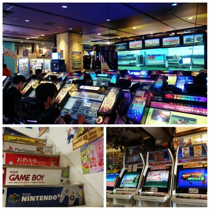 Geek's paradise et retro gaming à Akihabara