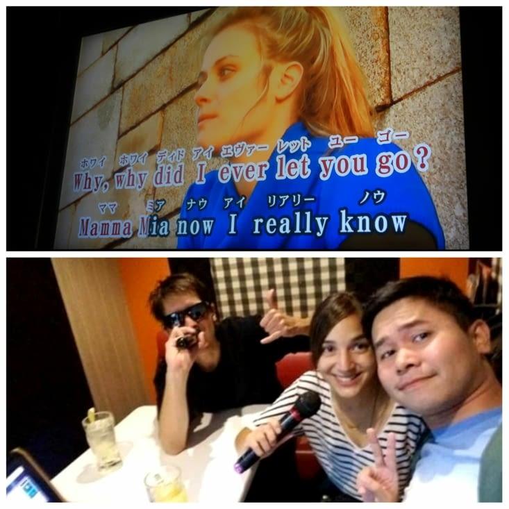 Karaoké à Shibuya avec Roel, un nouvel ami philippin