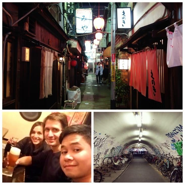 Bar à saké et nightlife - Nonbei Yokocho à Shibuya