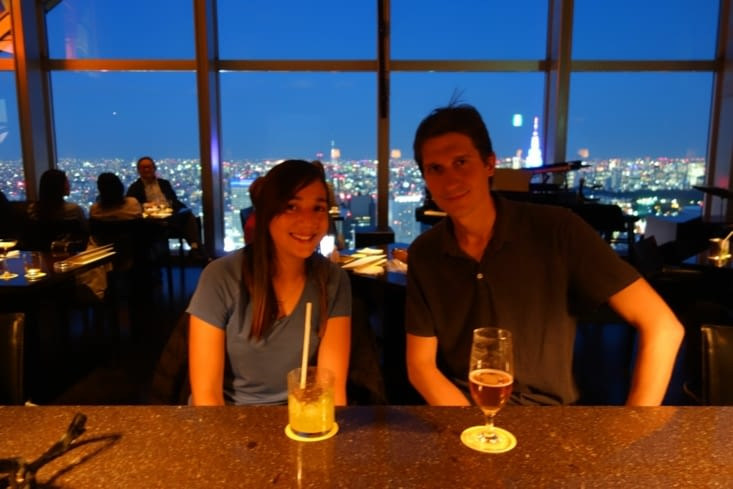 "Remake de ""Lost in Translation"" au New York Bar du Park Hyatt Tokyo à Shinjuku"