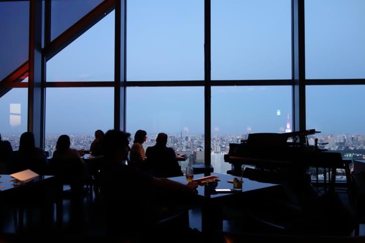 New York Bar du Park Hyatt Tokyo à Shinjuku