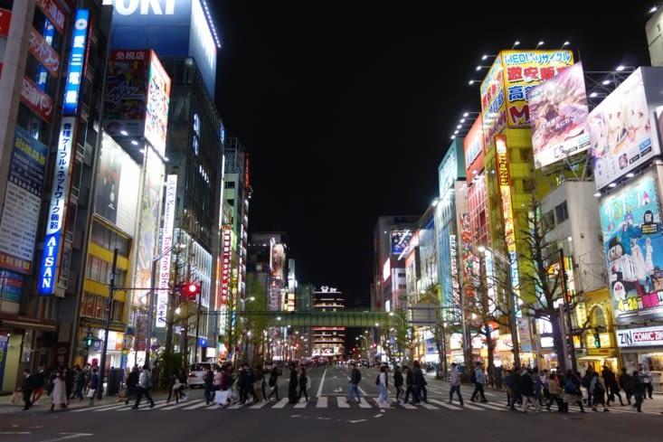 Tokyo by night à Akihabara