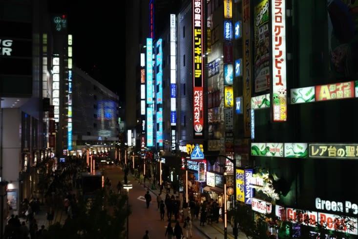 Tokyo by night à Shinjuku