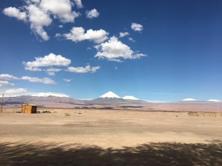 Derniers instants dans le désert