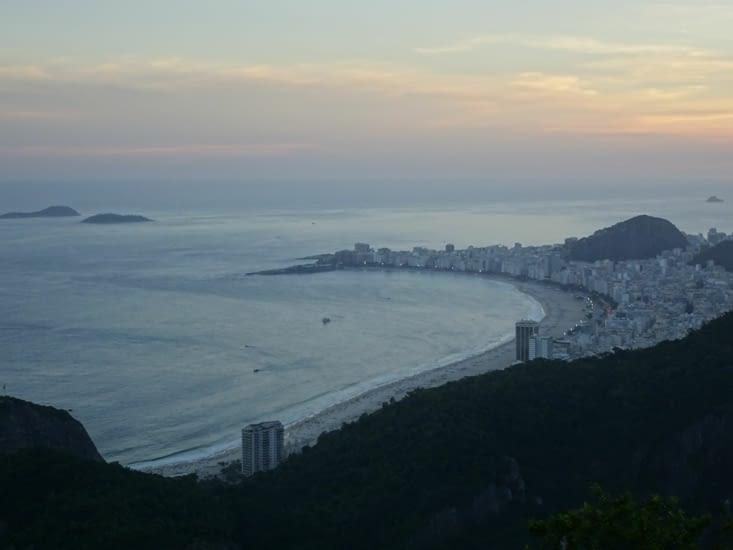 La plage de Copacabana qui s'endort...
