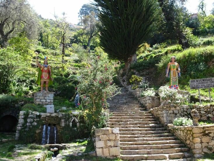 L'escalier de l'Inca