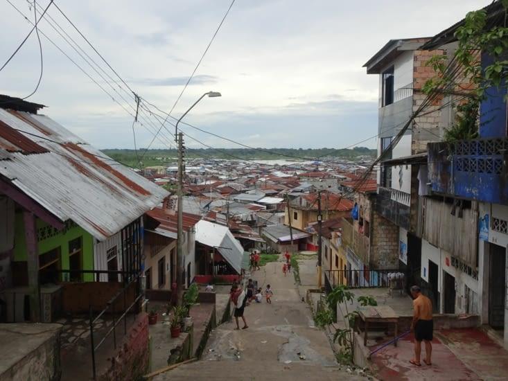 La ville de départ : Iquitos