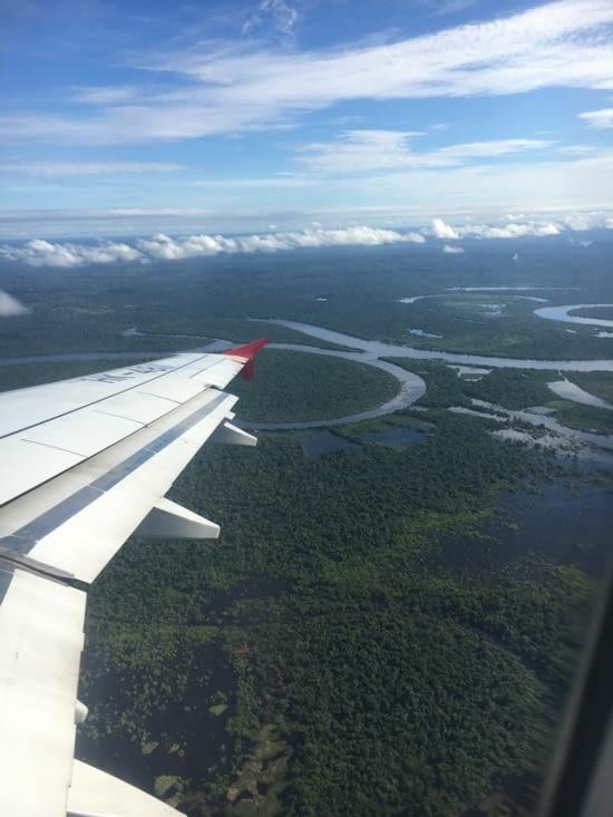 La voici, l'Amazonie enfin