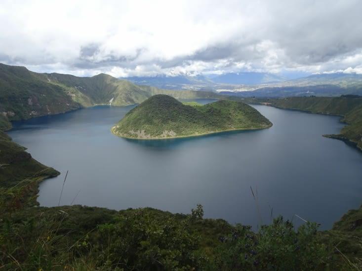 Lagune de Cotacachi à plus de 3000m