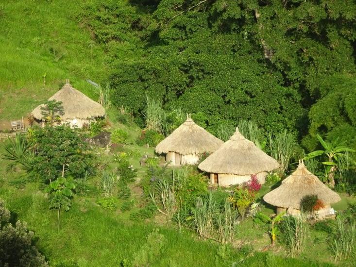 Maisons d'indigènes