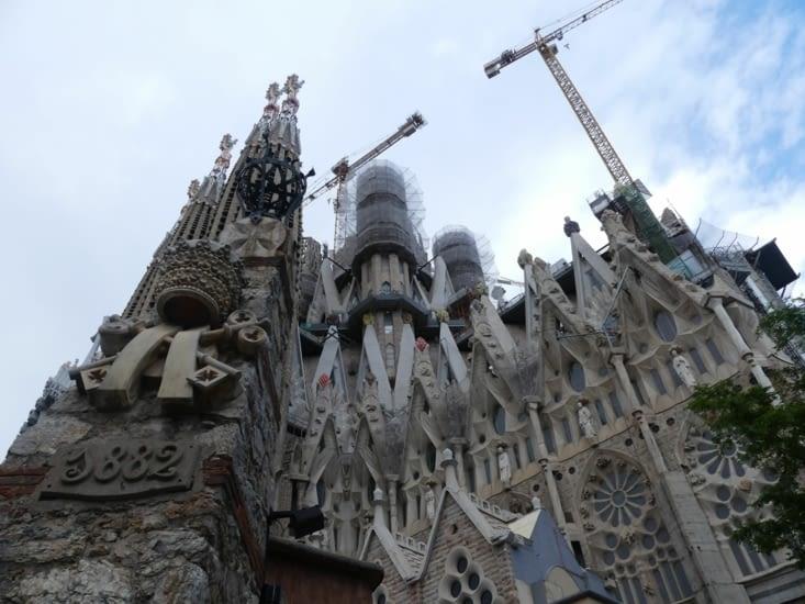 Madame la Sagrada Familia, la belle toujours en travaux
