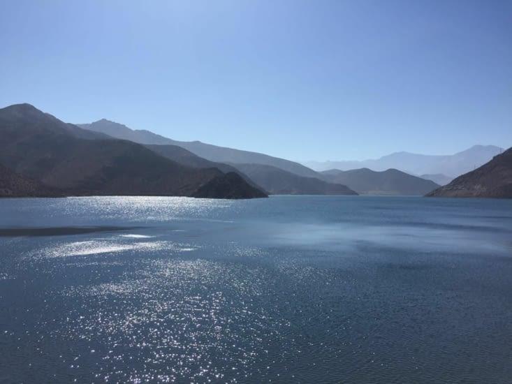 Lac de la vallée d'Elqui