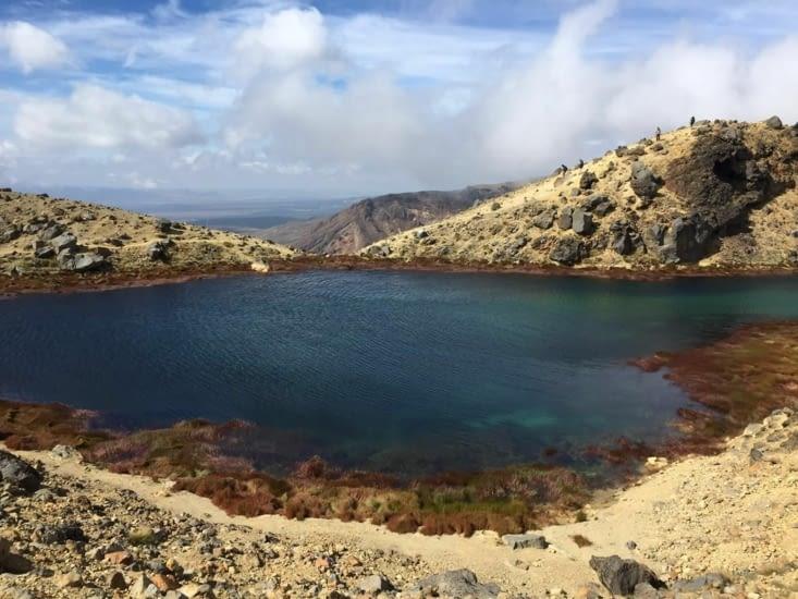 Sur la randonnée de Tongariro