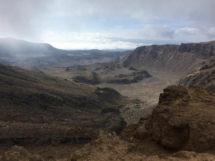Sur le Tongariro Alpine Crossing (8h à 9h de rando magique)
