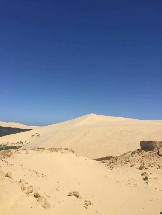 Te Paki Giant sand dunes (on peut louer une luge pr la descendre!:))