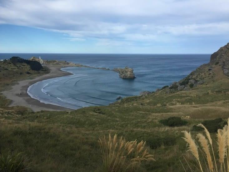 Wairarapa, non loin du phare une belle randonnée à faire