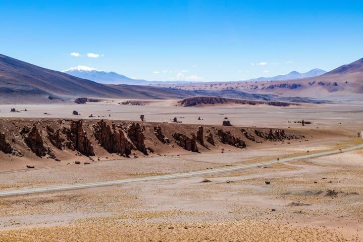 La route des salars - Monjes de La Pacana