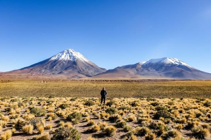 La route des salars - Volcans Licancabur (5920 m) & Juriques (5704 m)