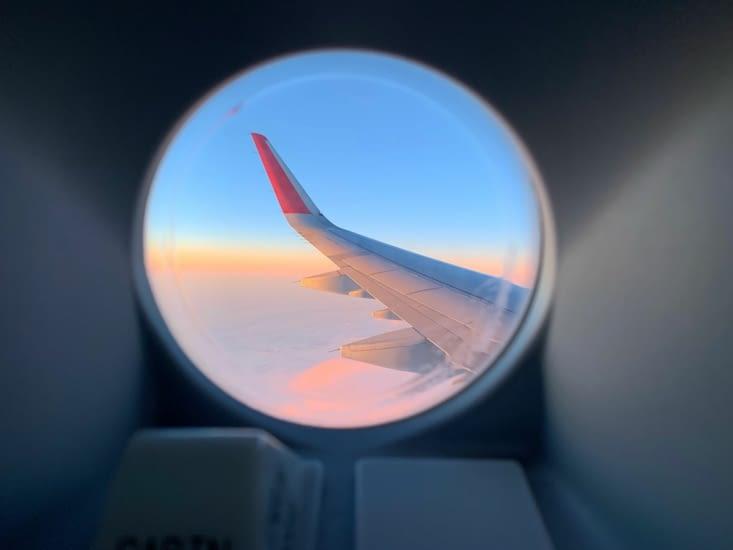 Pendant notre 1er vol
