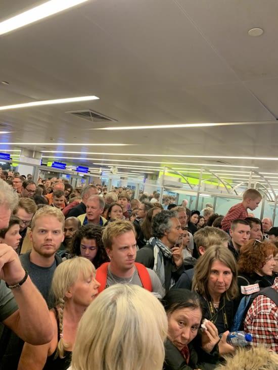 Un peu de monde à Moscou
