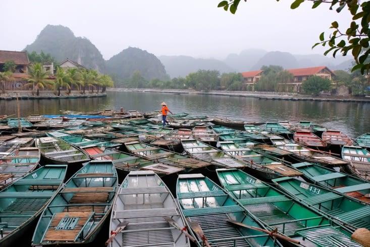 L'embarcadère de Tam Coc