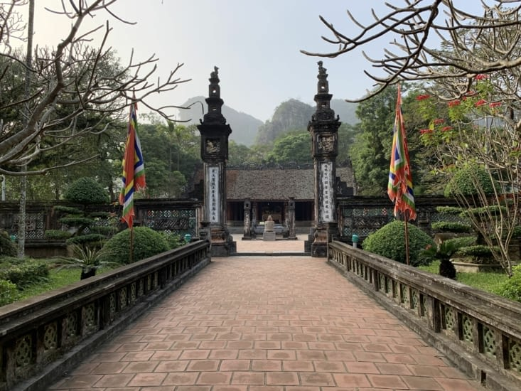 Porte d'un des temples